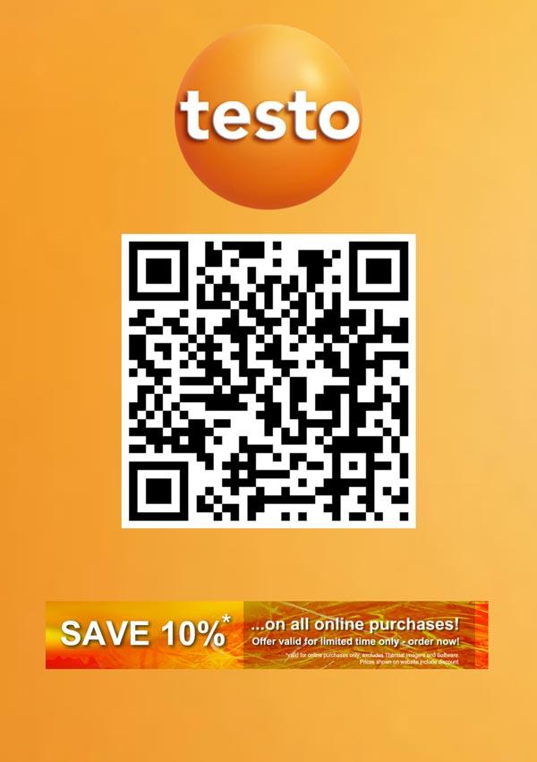 10% off Online | Testo Ltd
