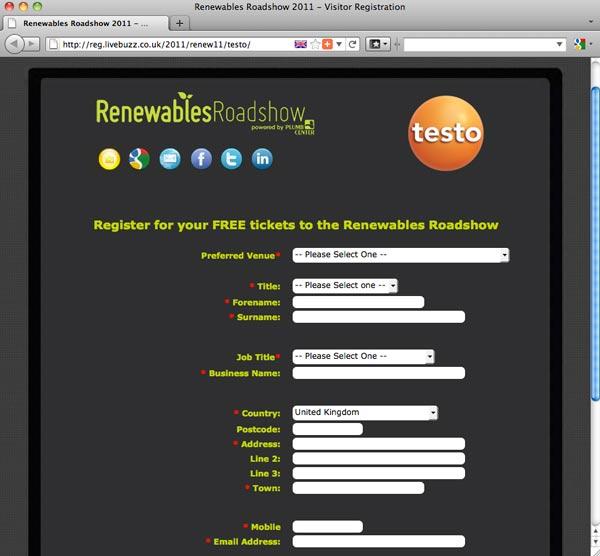 Testo | Renewables Roadshow