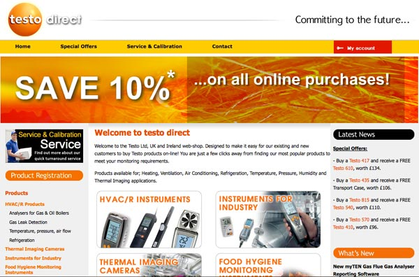 Testo Special Offers