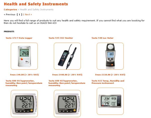 Testo Limited | Health and Safety Products