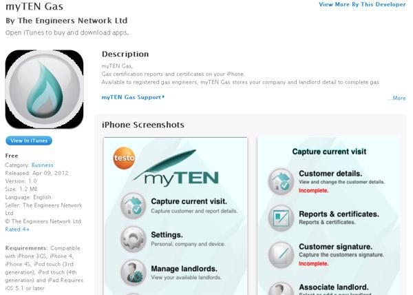 myTEN Gas testo 2012