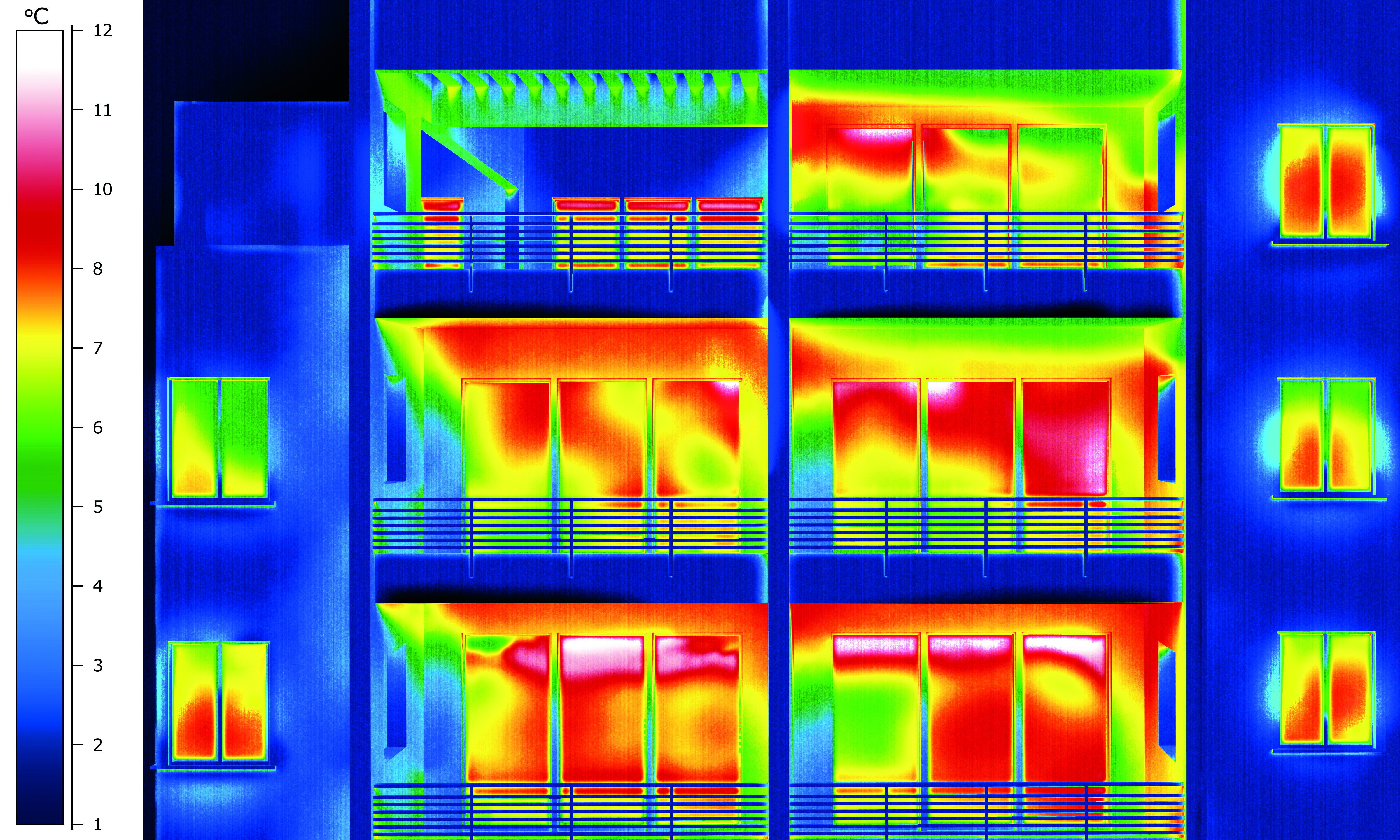 Thermal Imaging of apartments | Infrared | Pinterest