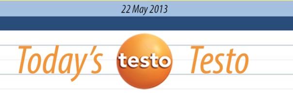 Today's Testo 22-05-13