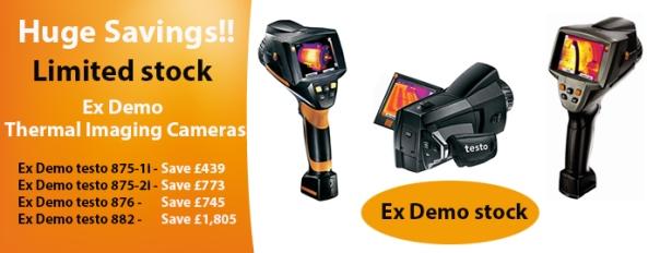 Ex Demo thermal imaging cameras
