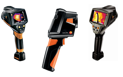 testo thermal imaging cameras