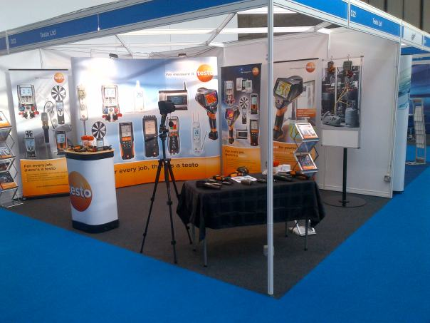 Testo stand at the ACR show 2014