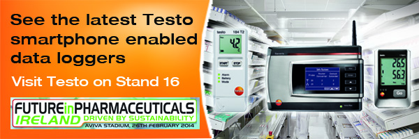 Testo at future in pharamceuticals exhibition