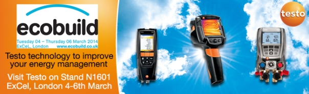 Testo Limited at Ecobuild - Stand N1601