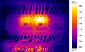 Thermal imaging electrical analysis