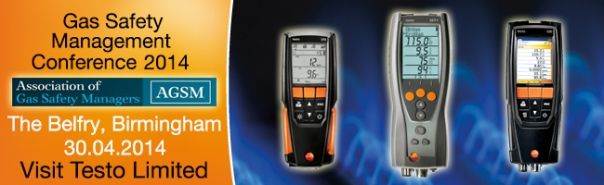 Testo Gas Safety Management Conference 2014