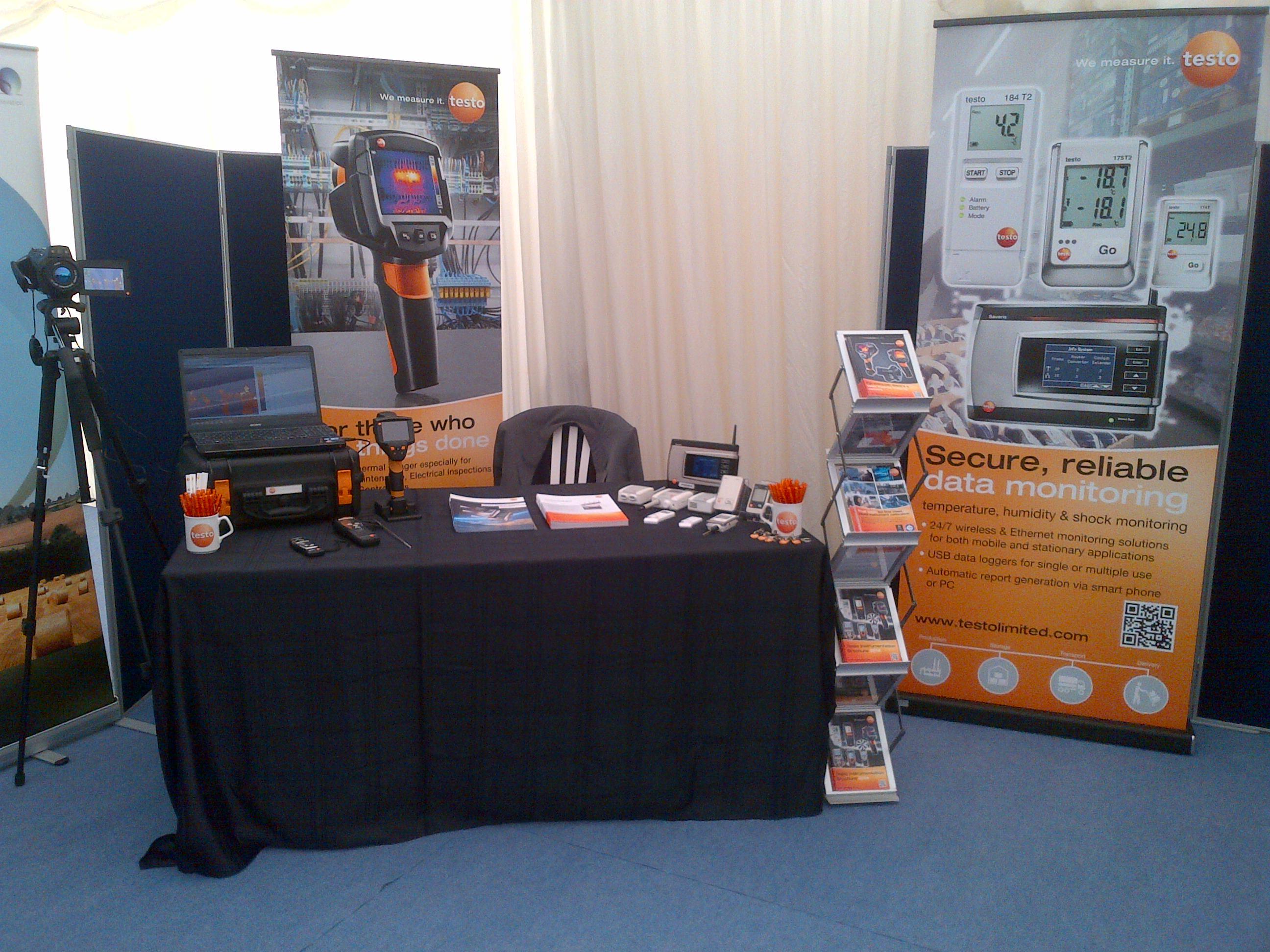 Testo Limited at Campden BRI Thermal Imaging Conference 2014