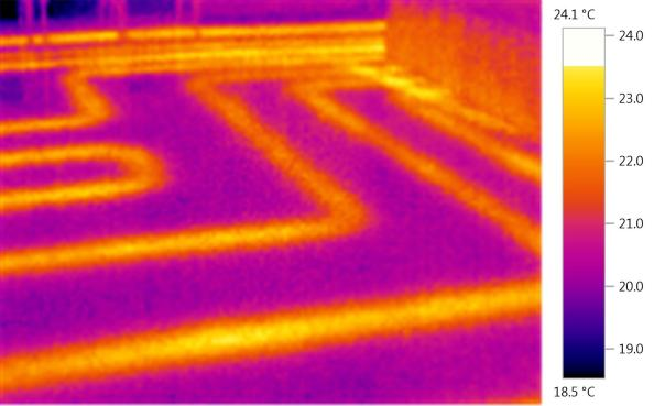 hall underfloor heating