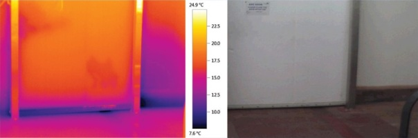 testo-thermal-imaging-to-outline-cold-air-leaks