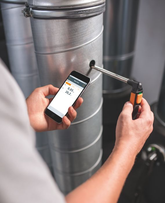 testo-limited-405i-thermal-anemometer-bluetooth-application